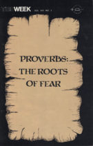 ProverbsTheRootsOfFear